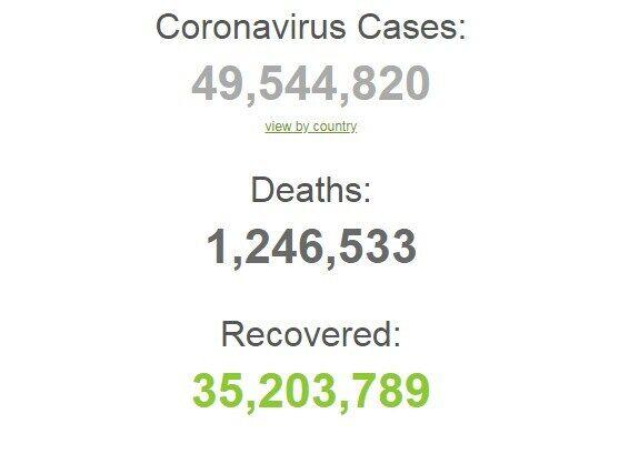 Заражены почти 50 млн.