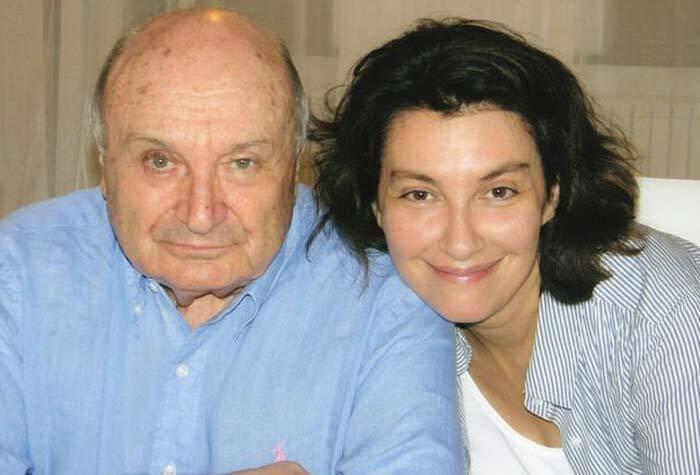 Михайло Жванецький з дружиною Наталією