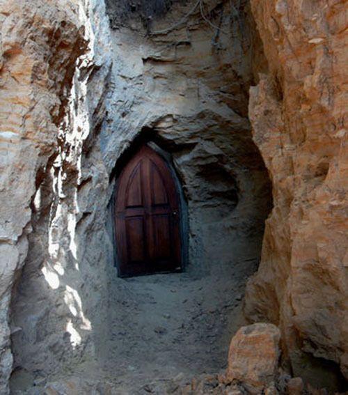 Пещерный монастырь в селе Буда