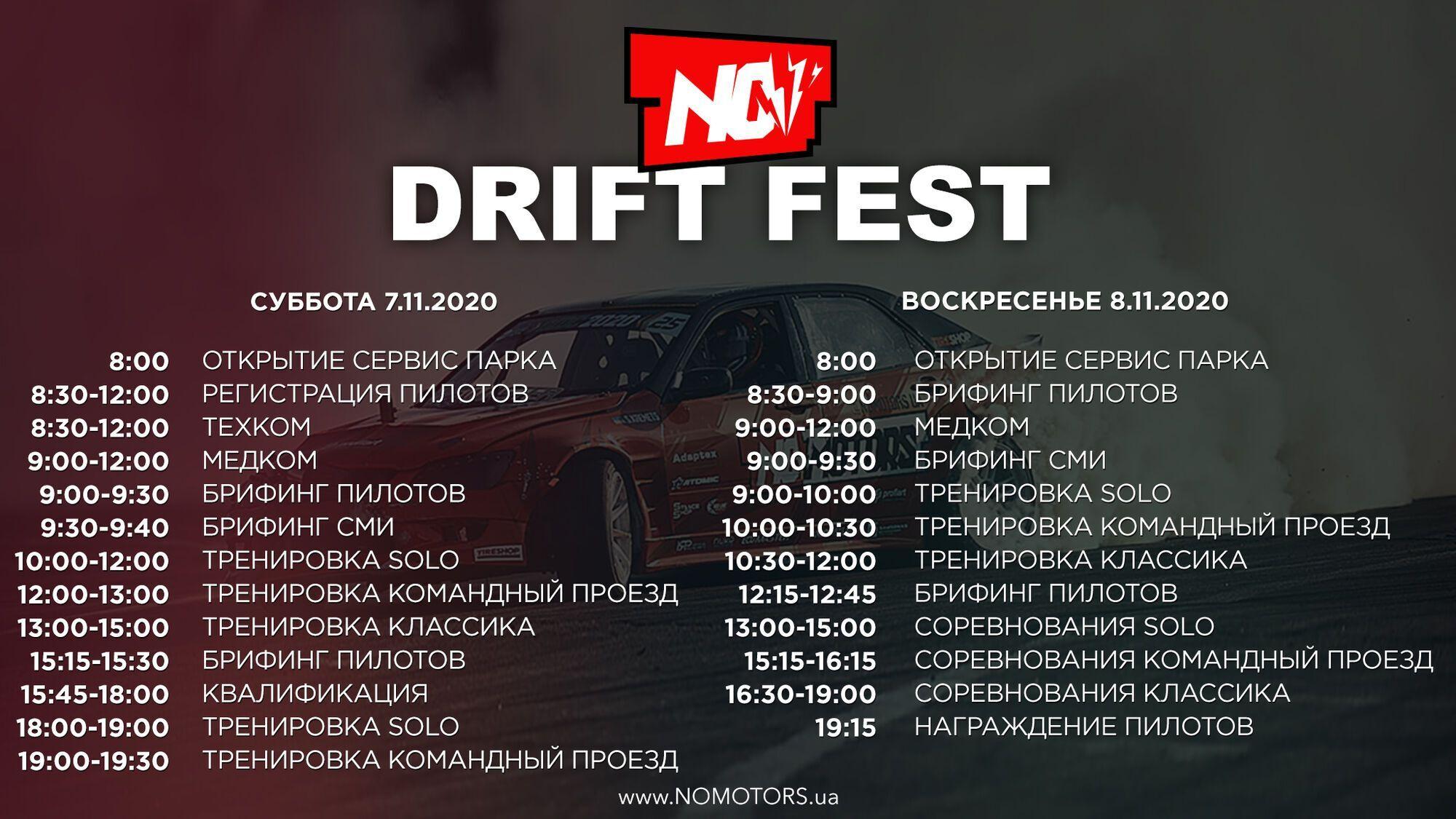 У Києві відбудеться фестиваль дрифту NoMotors Drift Fest