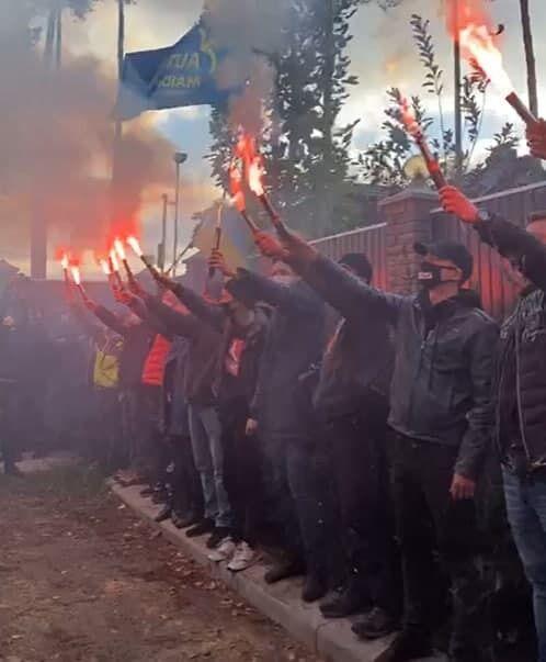 """Активісти скандували """"Тупицького у відставку!"""""""