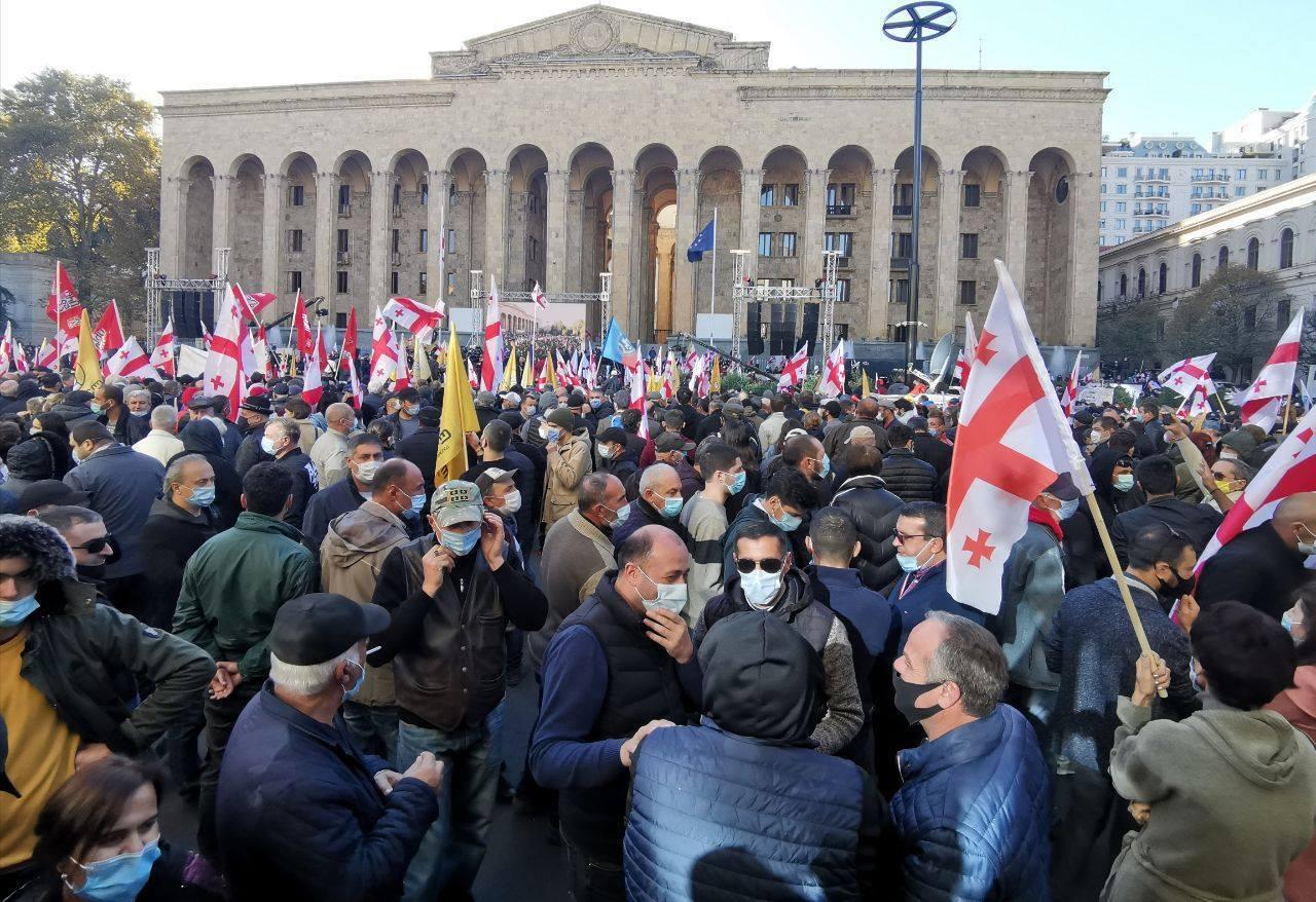 Мітинг у Тбілісі