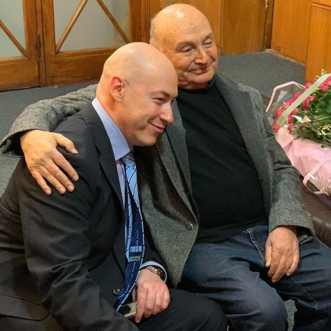 Дмитрий Гордон и Михаил Жванецкий.