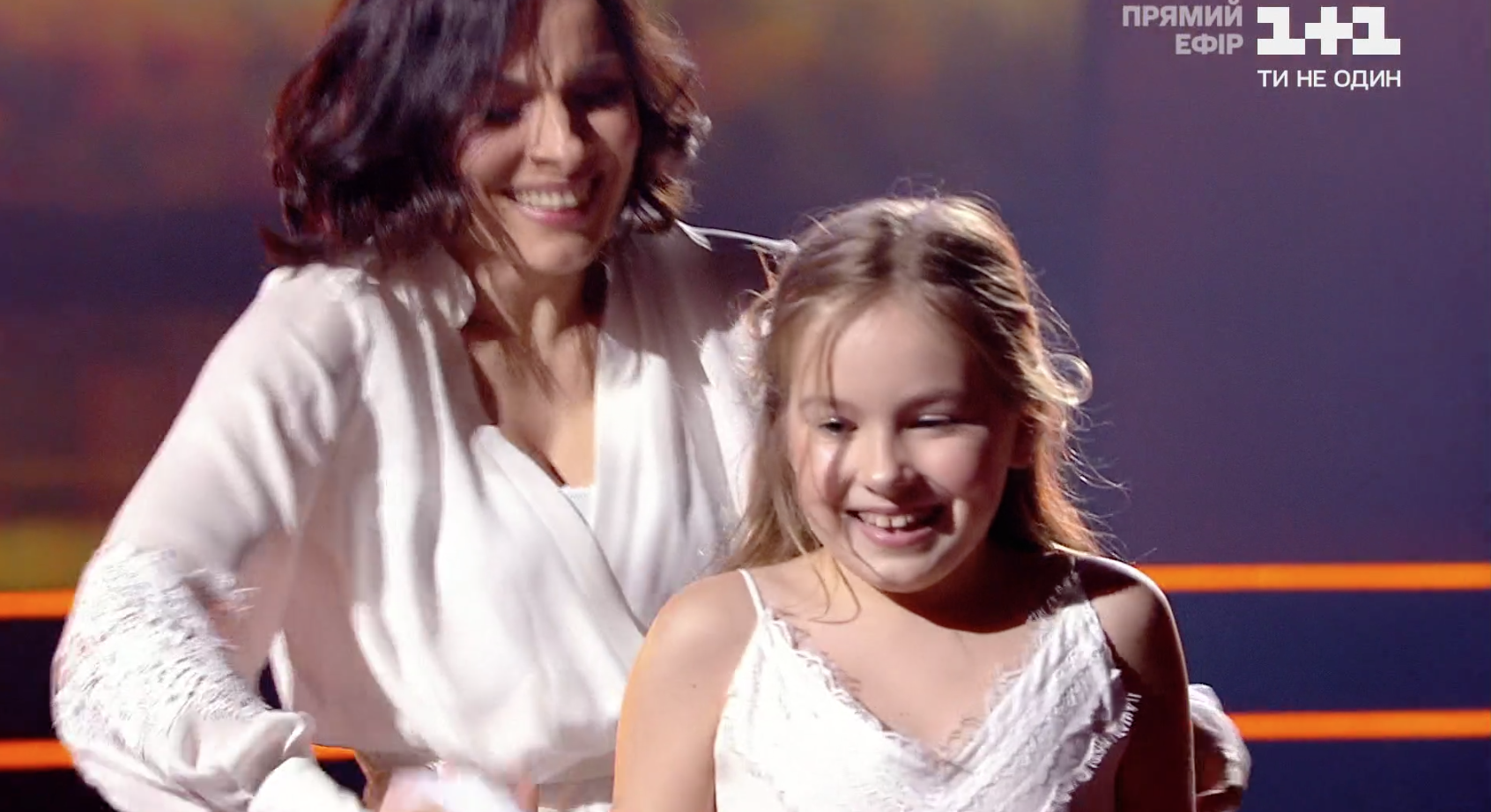 Надежда Мейхер с дочкой Анной