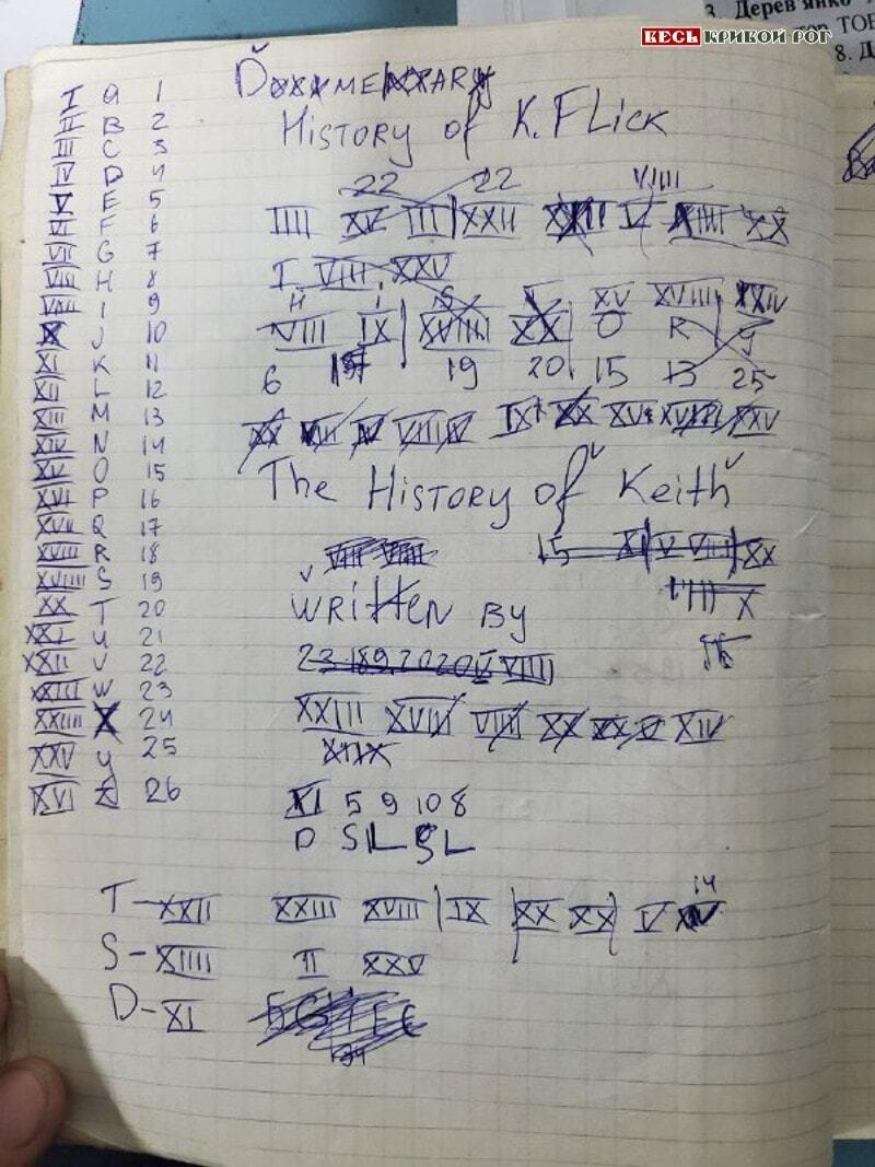 "Тарас Усенко вел ""Тетрадь смерти"""