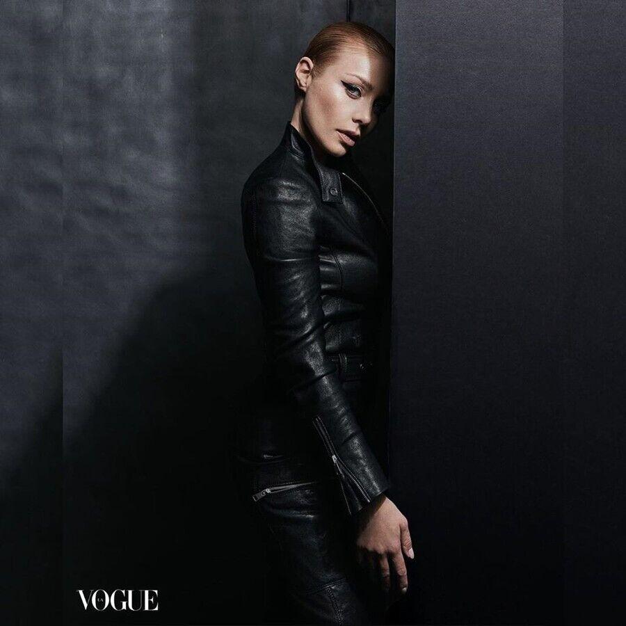 Тина Кароль позирует для Vogue