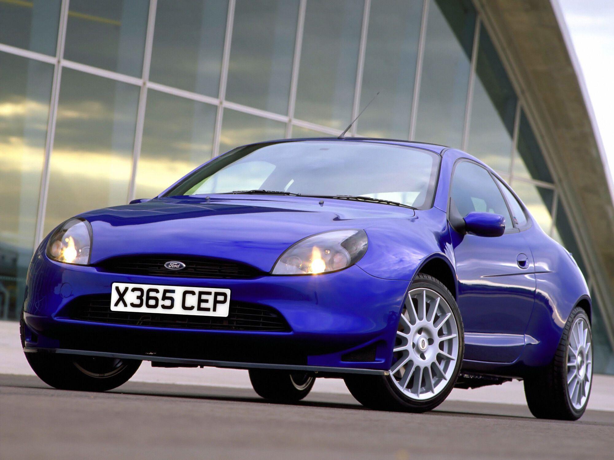 Купе Ford Puma выпускалось с 1997 по 2002 год