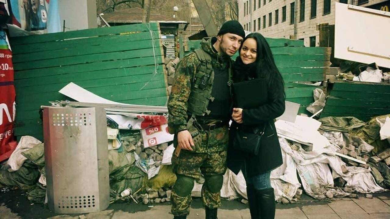 Виталий и Диана познакомились на Майдане