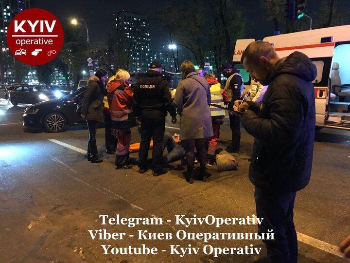 ДТП произошло возле Варшавского квартала около 20:30