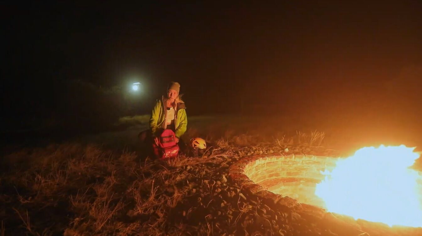 """Ведущая """"Орла и Решки"""" поднялась на действующий вулкан в Танзании"""