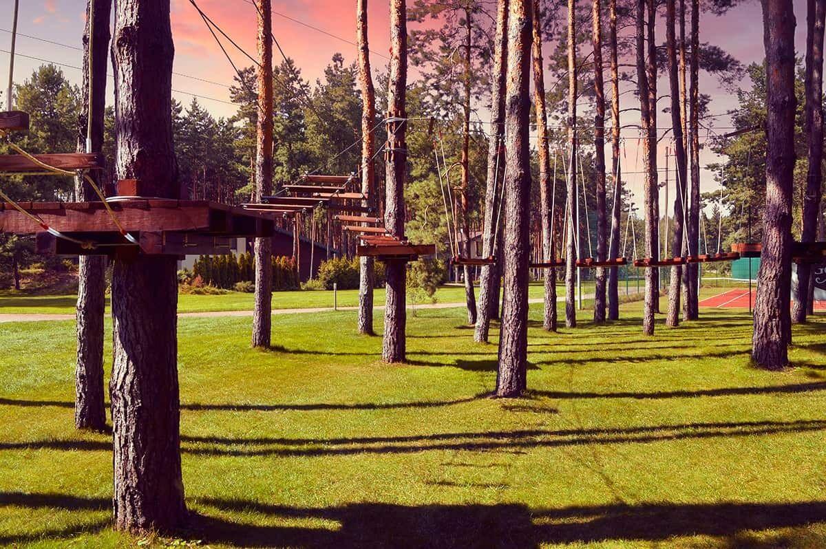 Територія котеджного містечка.