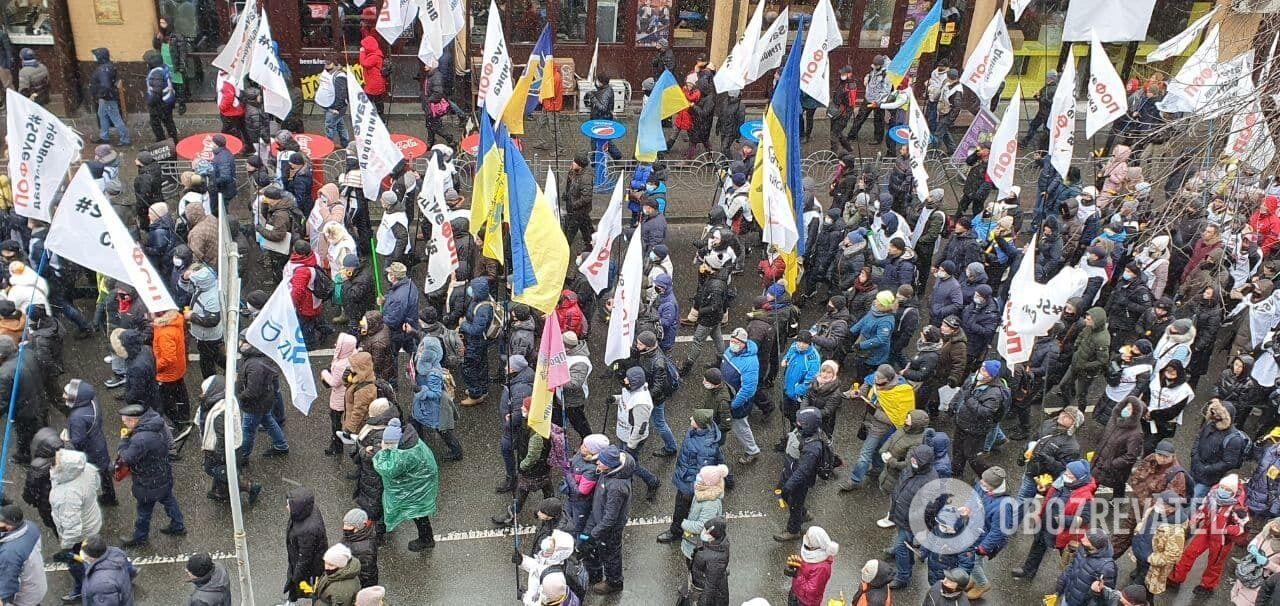 Митингующих собралось несколько тысяч