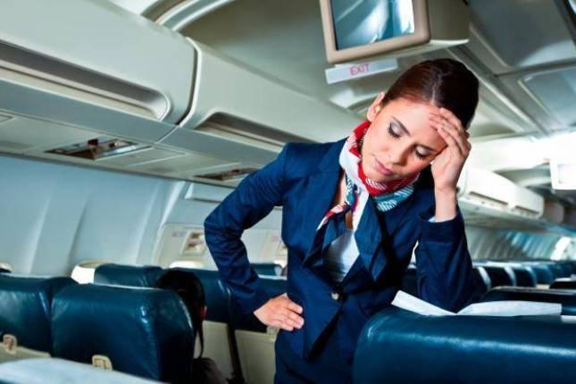 Алгоритм действий стюардессы при плохом самочувствии