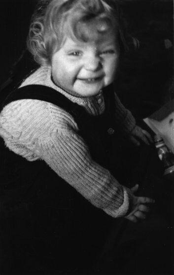 Ангела Меркель в дитинстві