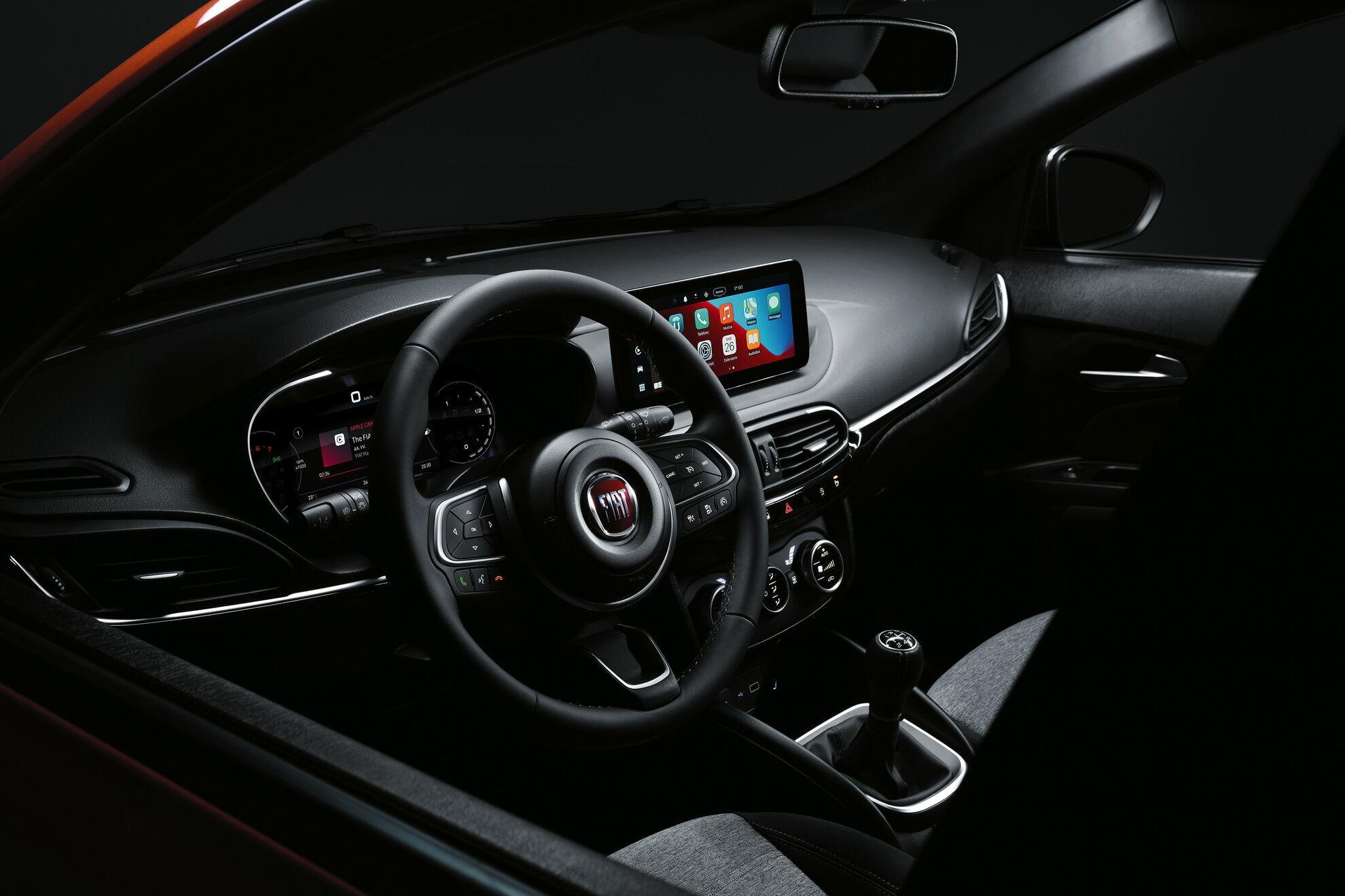 FIAT Tipo получил цифровую шкалу приборов