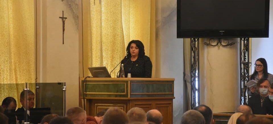 Ирина Гримак стала председателем Львовского облсовета