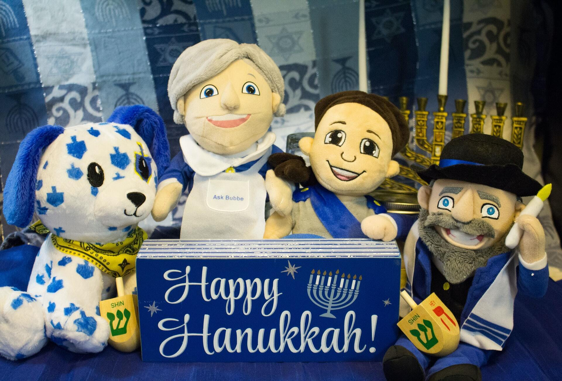 Дни Хануки у евреев проходят за весельем и праздничными трапезами