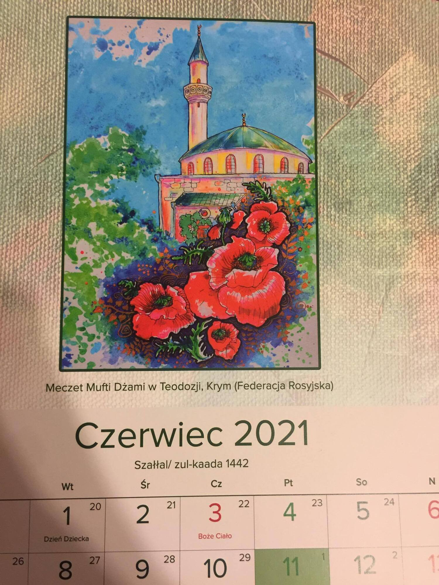 """Мусульмани Польщі видали календар із """"російським"""" Кримом"""