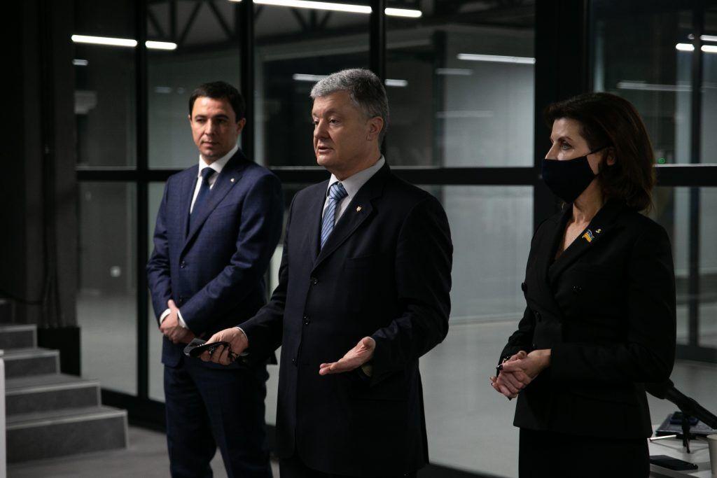 Порошенко поблагодарил киевлян за поддержку на выборах