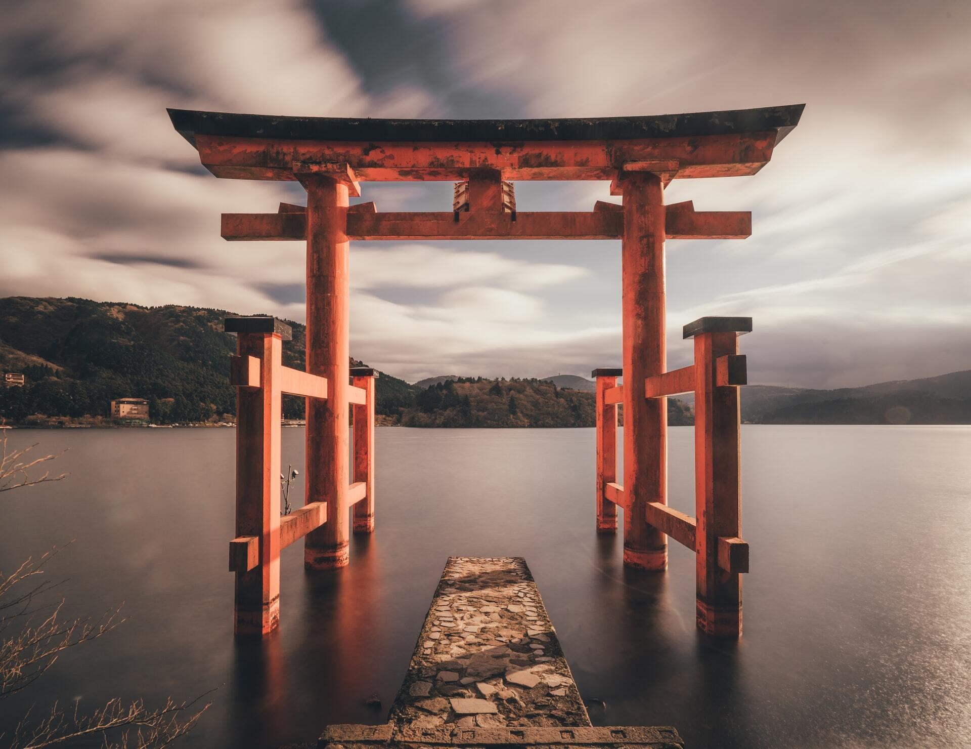 В первый день нового года в Японии встречают восход солнца