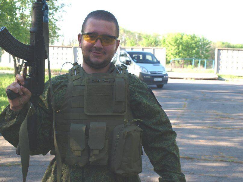 """Терорист """"ДНР"""" Володимир Звягінцев."""