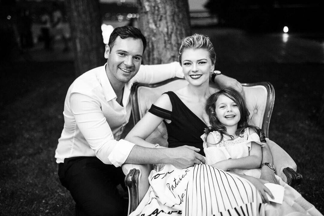 Ирина Блохина с семьей