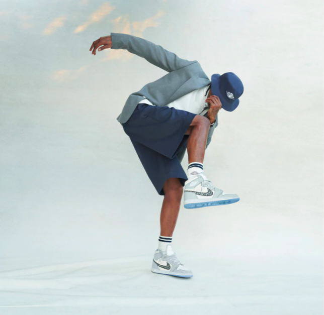 Чоловічі кросівки Dior Air Jordan
