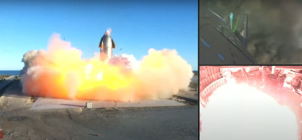Starship взорвался во время приземления.