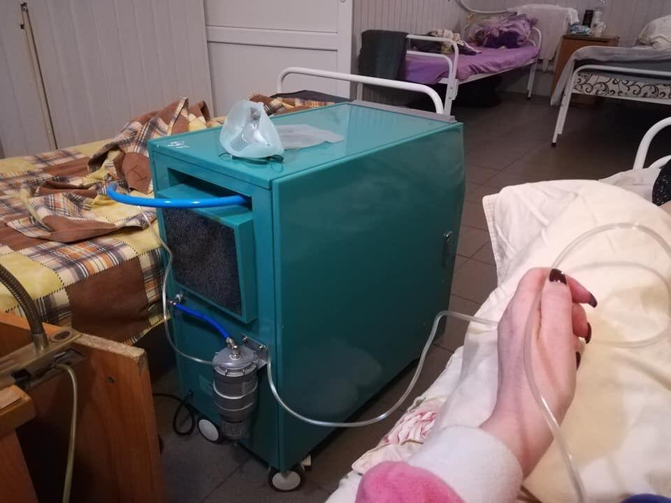 15-літровий кисневий концентратор