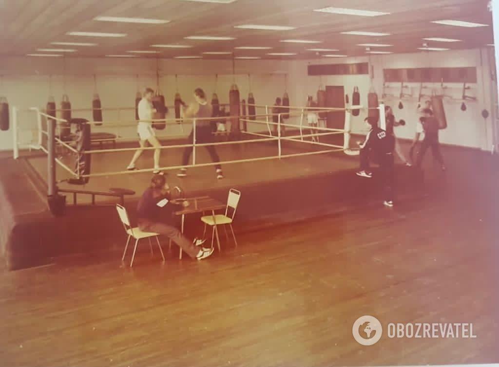 Подготовка советских боксеров в Конча-Заспе.