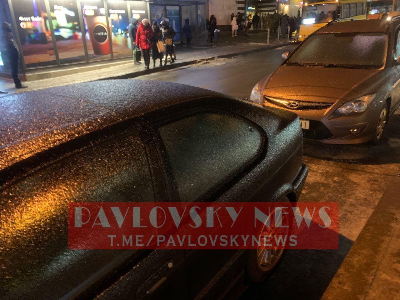 Крижаний дощ у Києві