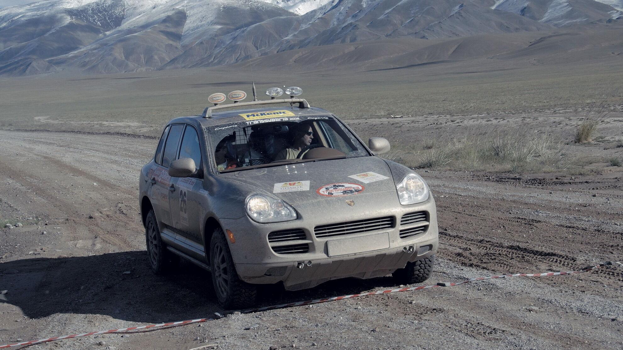 У 2007 році перші три призових місця марафону TransSyberia Rally посіли екіпажі на Cayenne