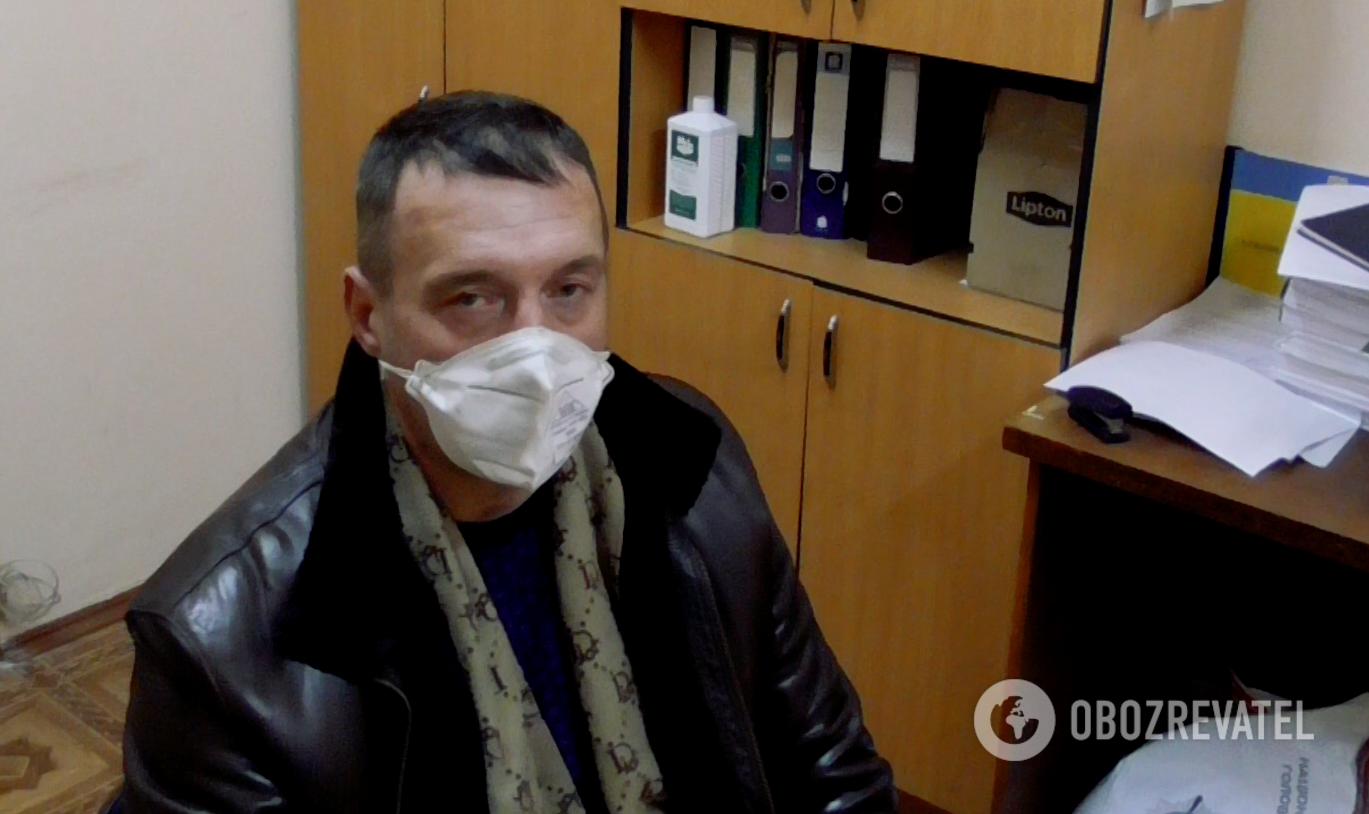 Юрист Олег Мирошниченко, которого похитили в Киеве
