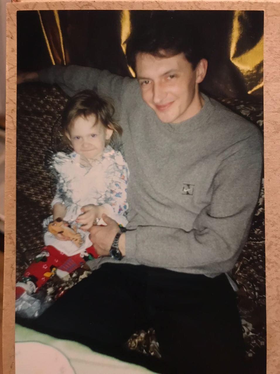 Аріна Любітєлєва в дитинстві.