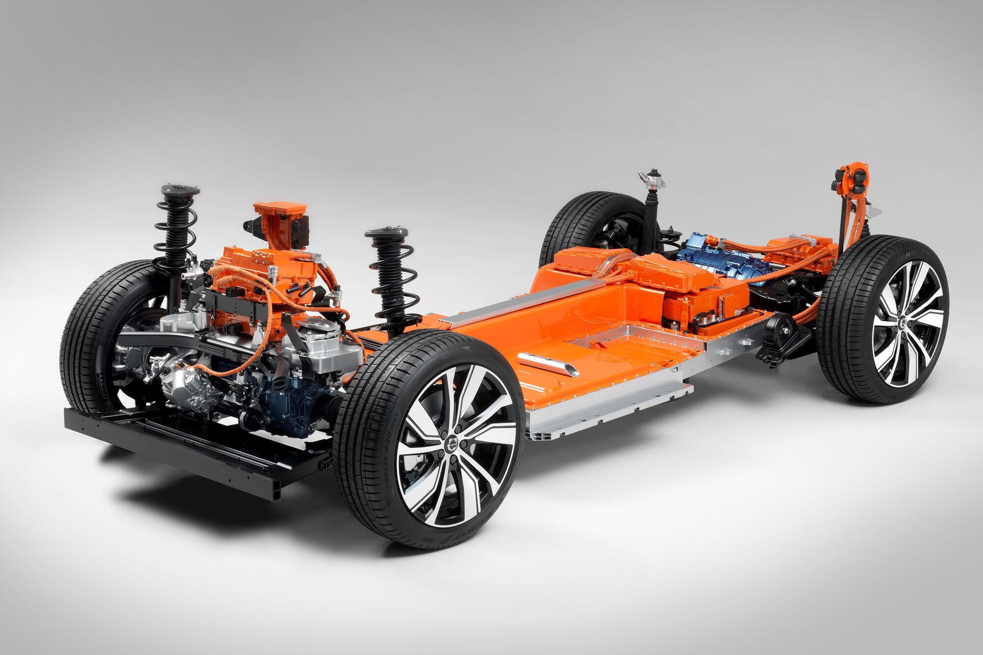 Електрична платформа першого в історії бренду електричного кросовера Volvo XC40 Recharge