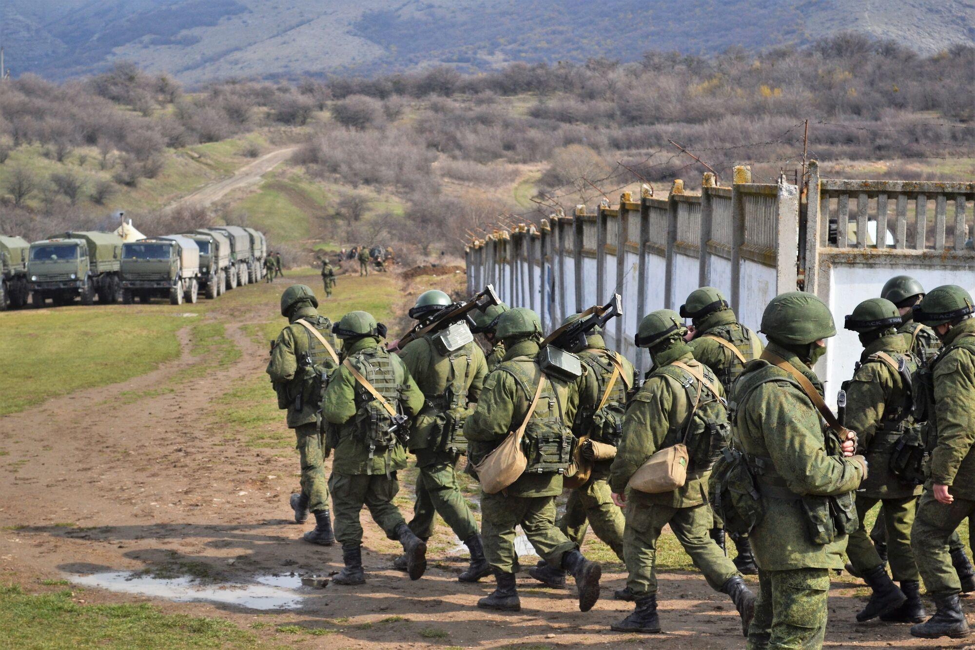 Росія захопила український півострів Крим у березні 2014 року