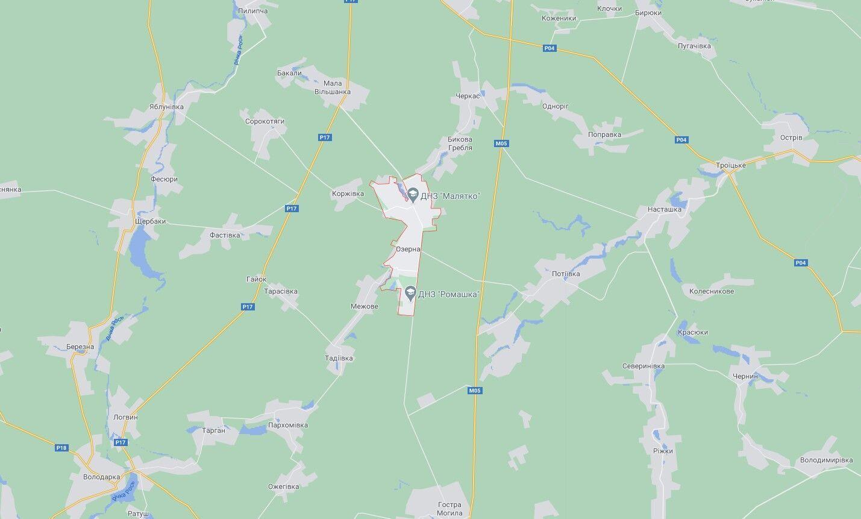 После нападения на полицейского злоумышленники уехали в сторону села Озерная.
