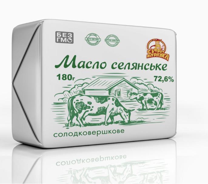 """Масло Охтирської молочної компанії """"Славія"""""""