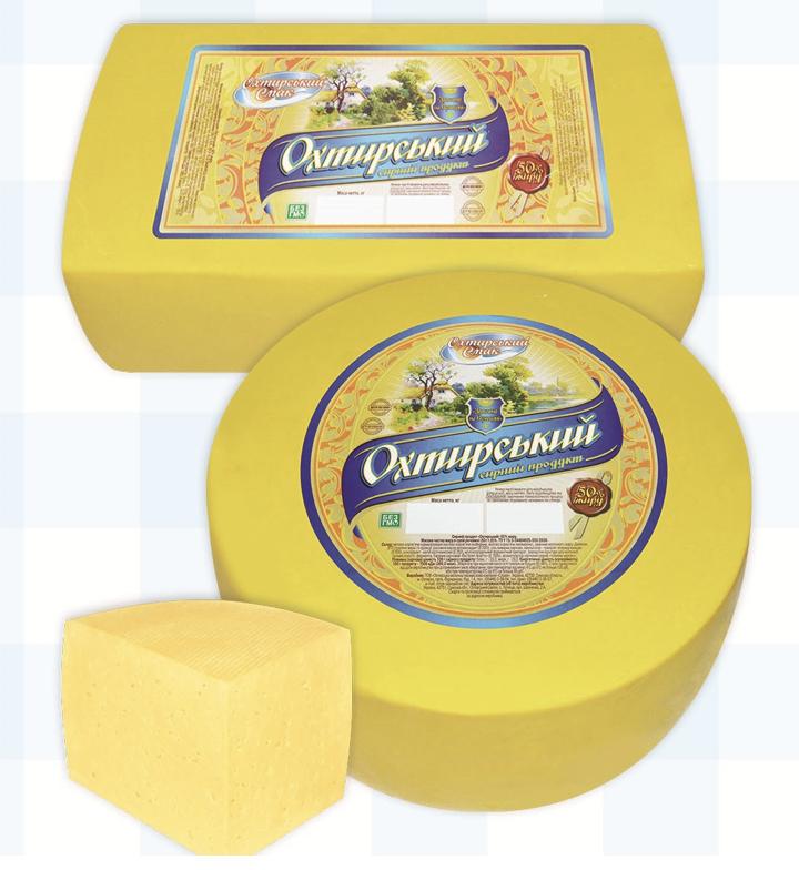 """Сир Охтирської молочної компанії """"Славія"""""""