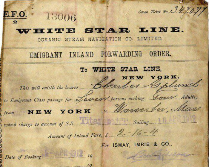 """Билет на """"Титаник"""""""
