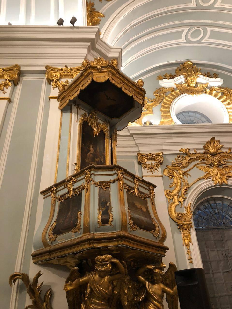 Отреставрированная Андреевская церковь