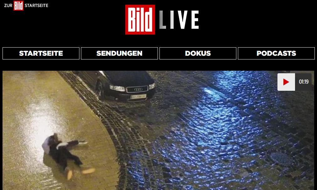 Відео опублікували на порталі Bild