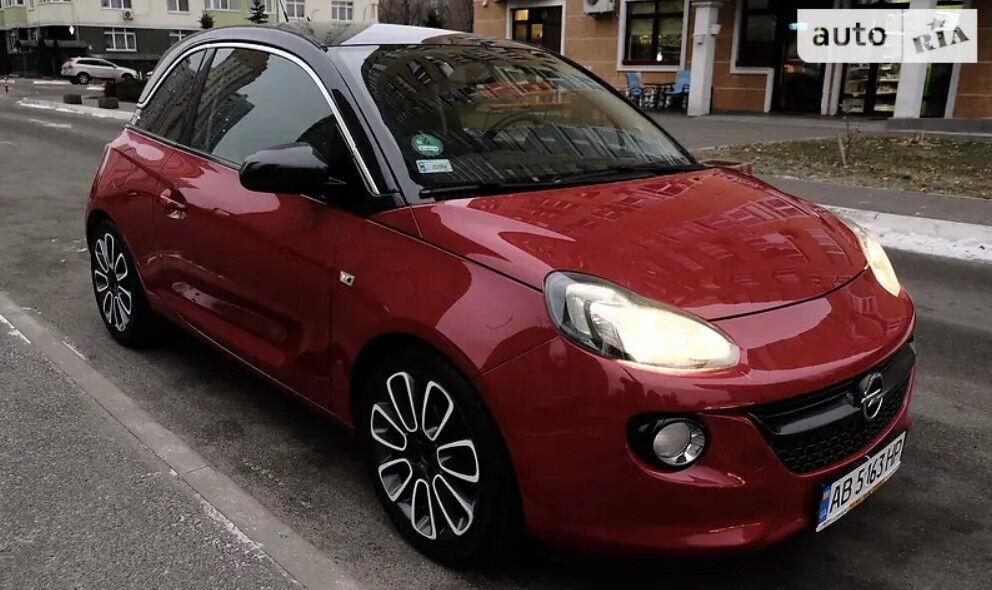 Opel Adam создавали в качестве соперника Mini