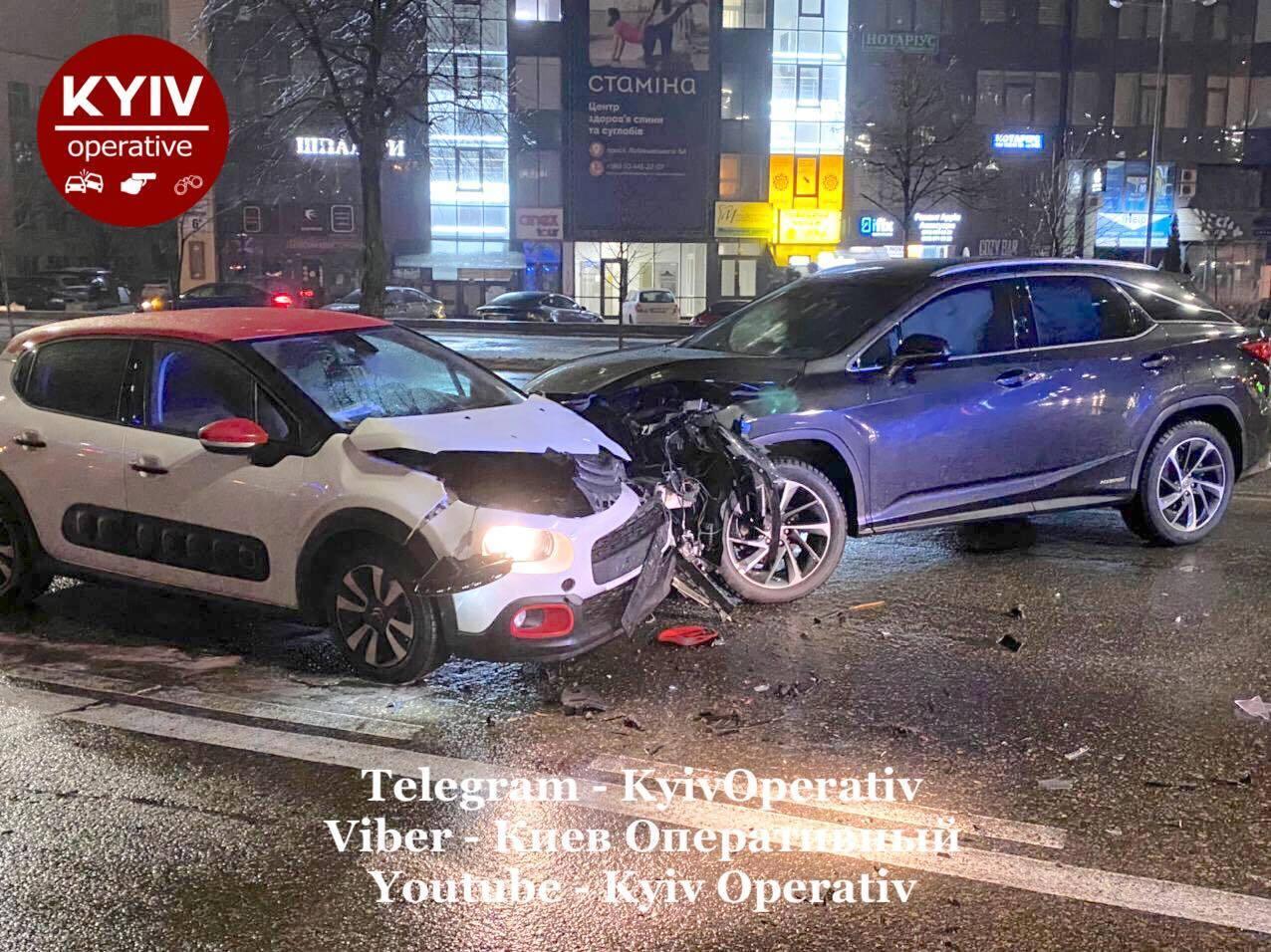 ДТП в Києві.