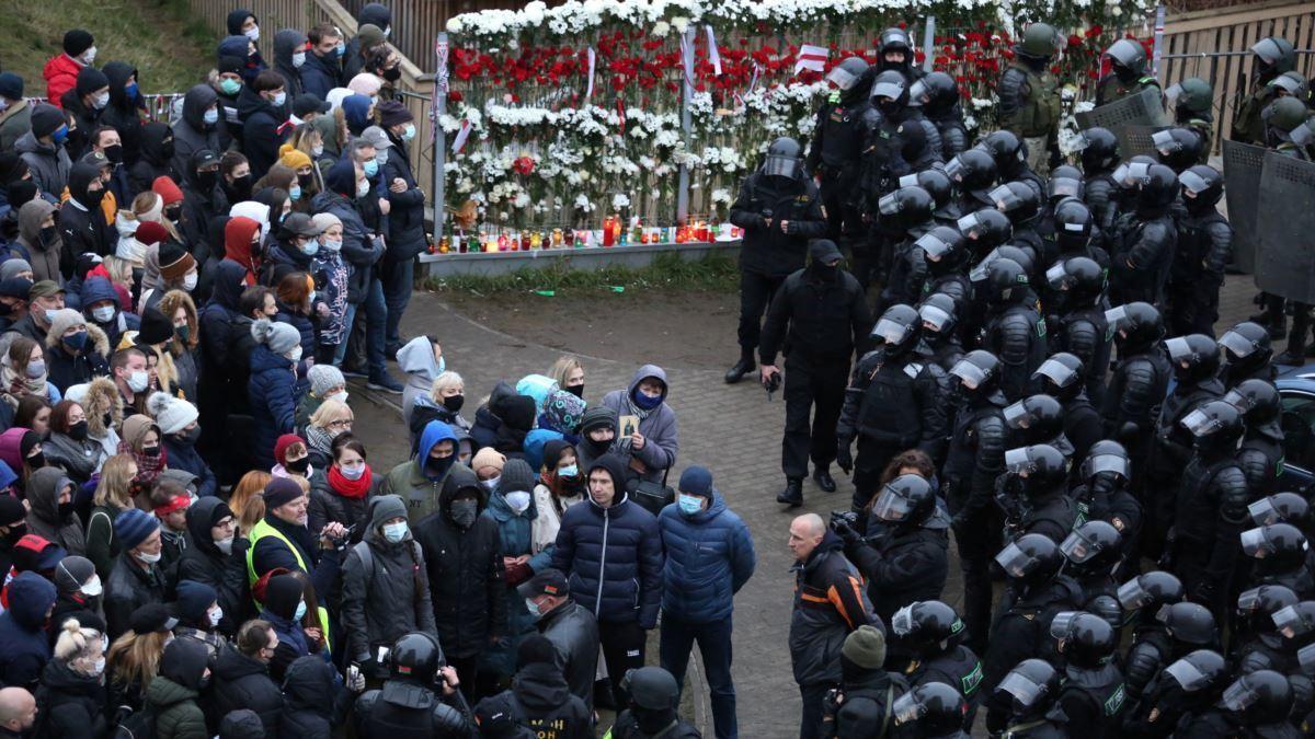 Протесты в Беларуси продолжаются уже пятый месяц
