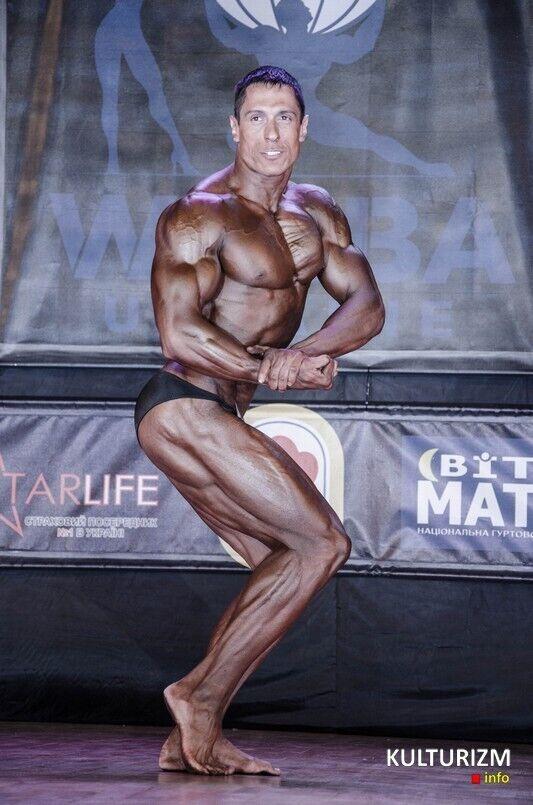 Андрей Подоба – призер украинских соревнований по культуризму