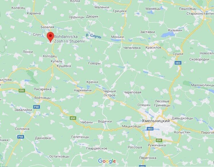Інцидент стався в Богданівці.