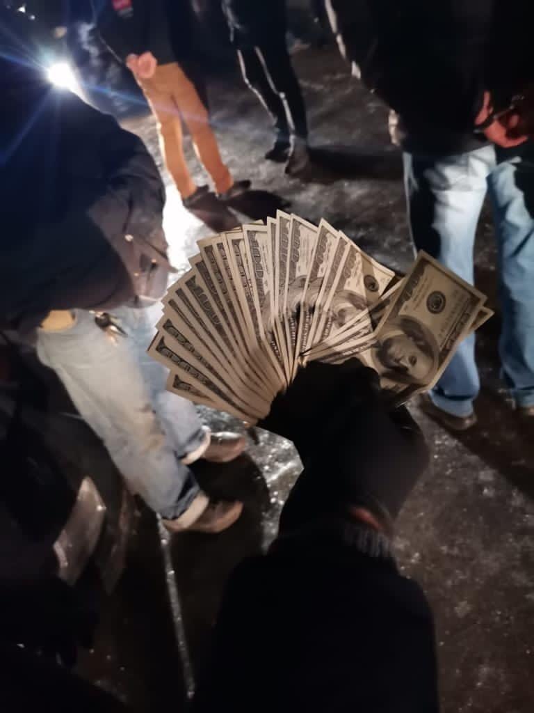 Задержание произошло во время получения копами $2,5 тыс.