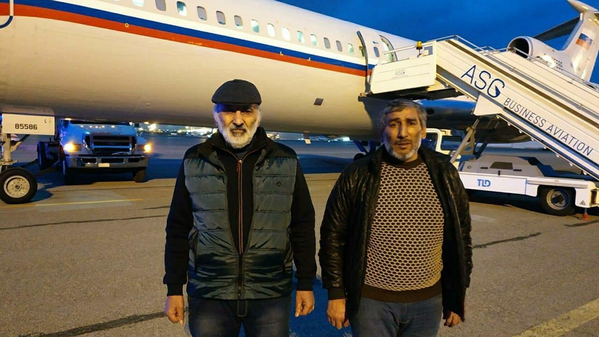 Шахбаз Гулиев и Дильгам Аскеров