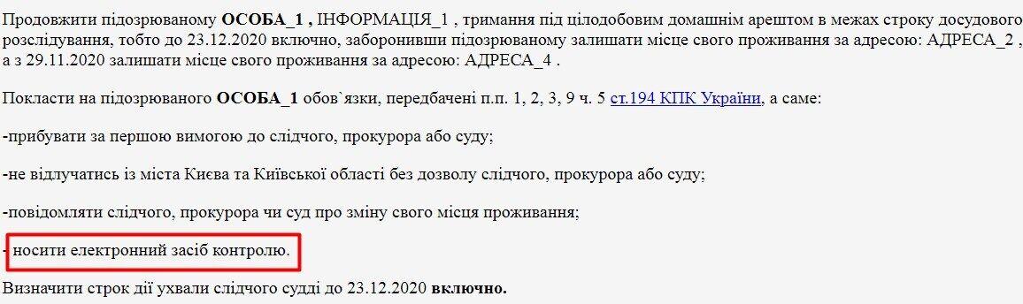 Рішення Оболонського районного суду від 23.11. 2020 р.